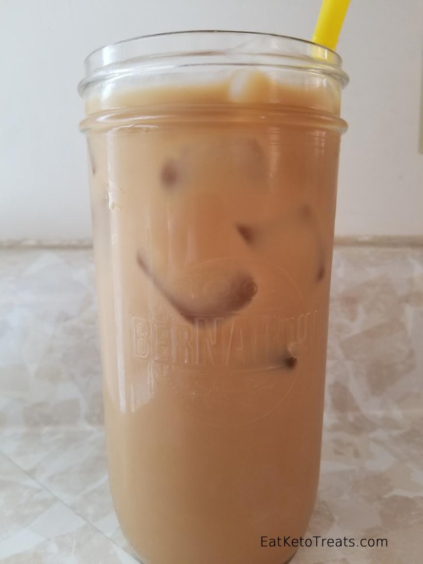 Vanilla Iced Coffee Eat Keto Treats